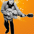 Illustration - eddie cochran