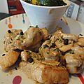 Blancs de poulet au miel et vinaigre balsamique