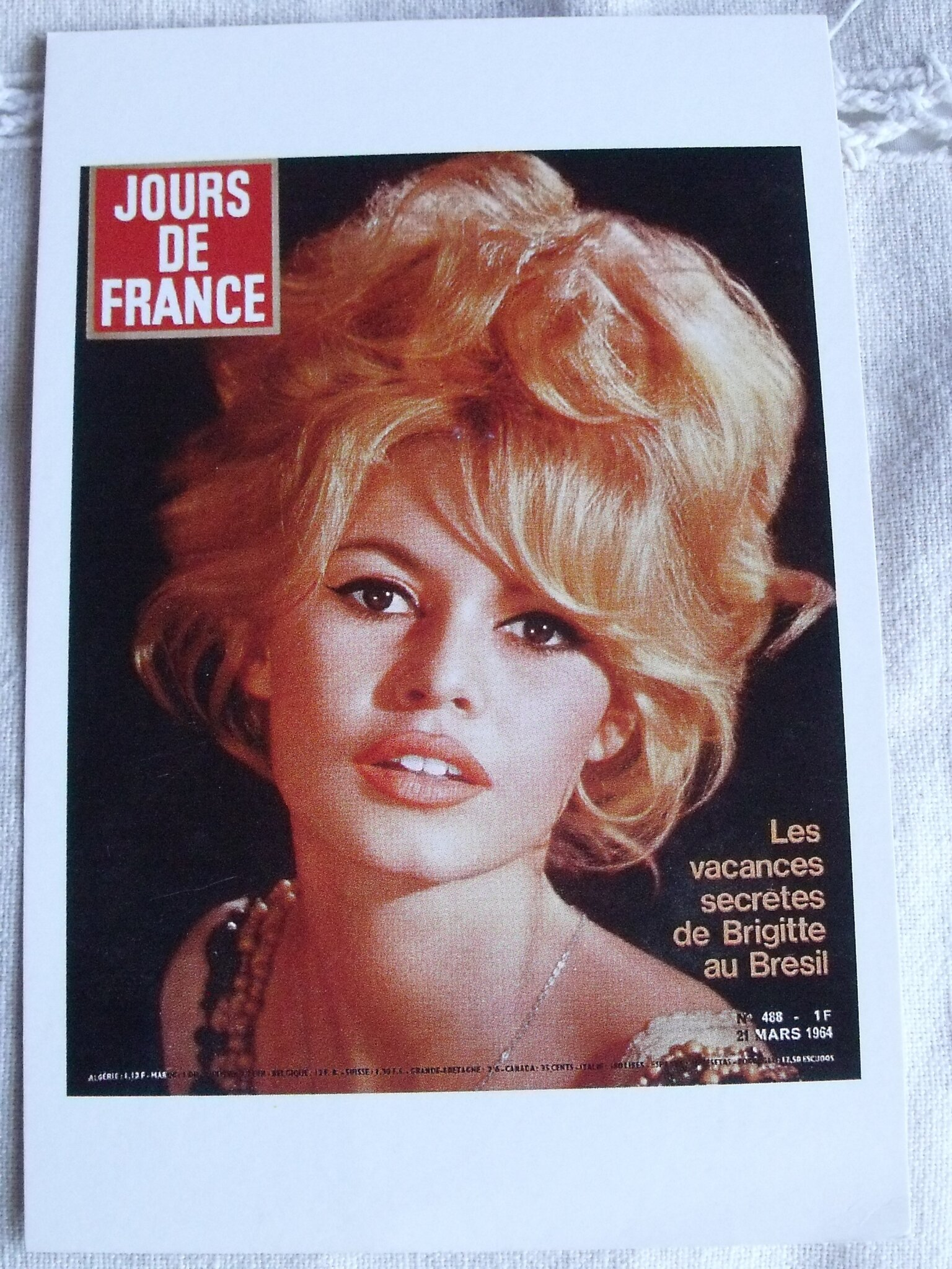 Brigitte Bardot 1964