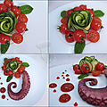 Rose concombre