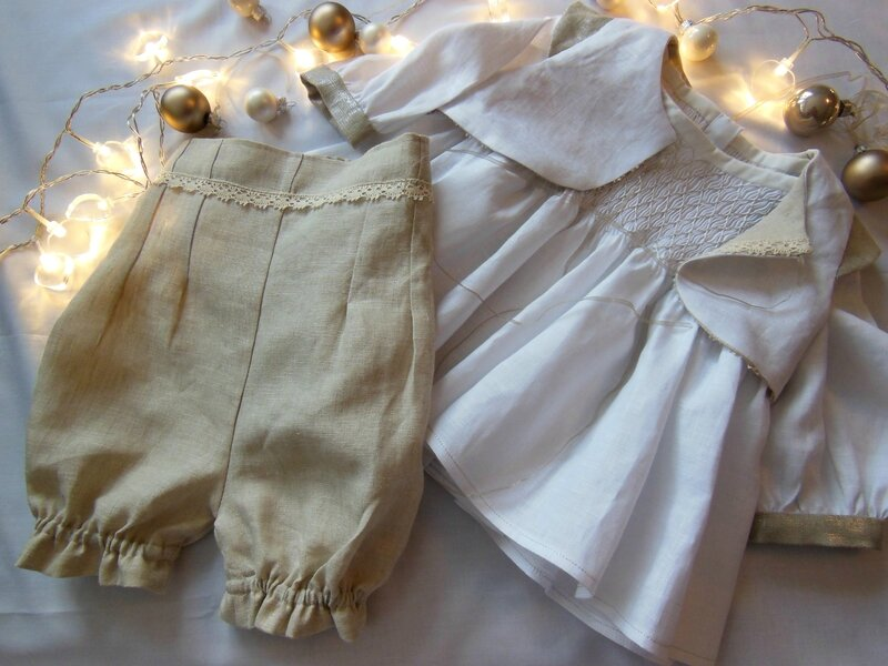 Concours couture lin2 - Couleurs blanche