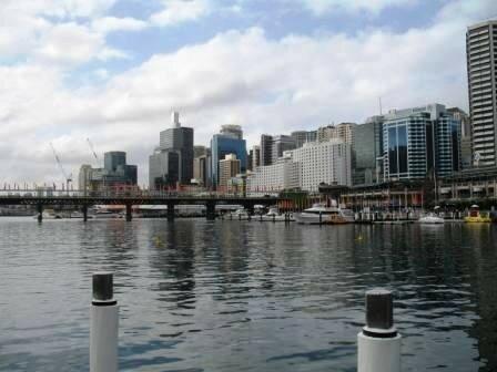 Sydney vue sur la ville b