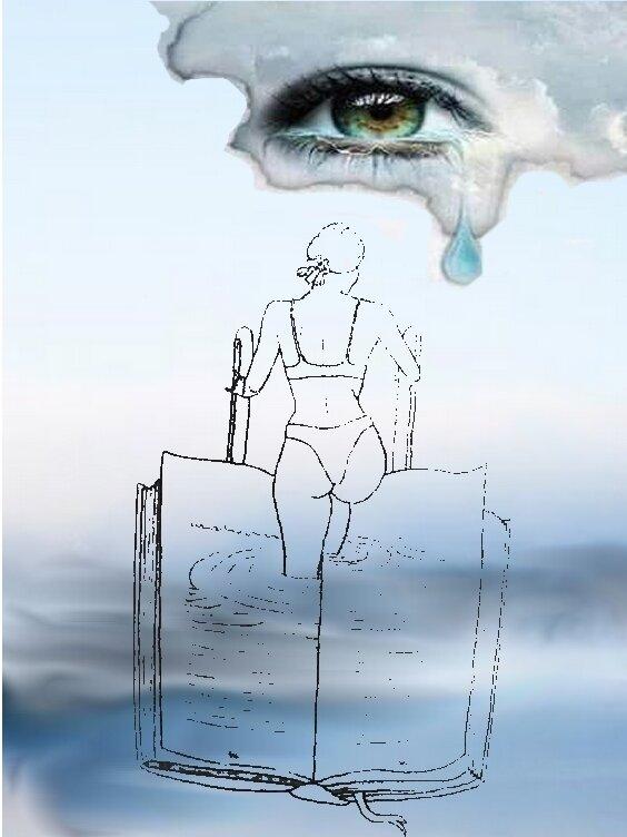 femme livre mer 1