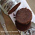 Divin cake au chocolat de la mère de famille - cuisson bocal pour #cadeaux gourmands