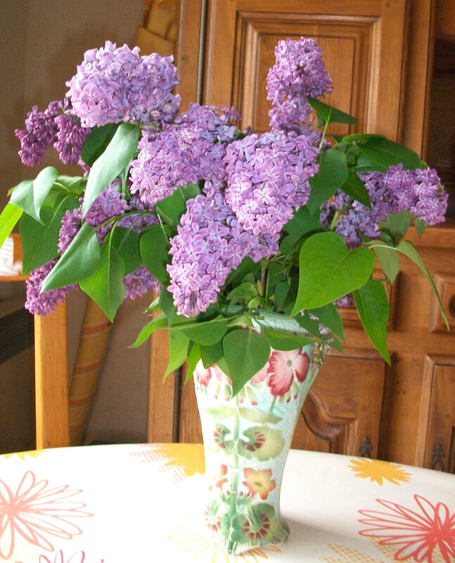 bouquet lilas