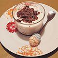 Panna cotta au lait de coco et toblerone