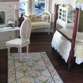 tapis au petit point