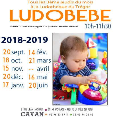 AFFICHE LUDOBEBE 2018-2019