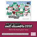 Mini-catalogue août/décembre 2020