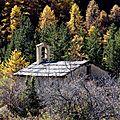 La chapelle saint-sauveur de névache - vallée de la clarée