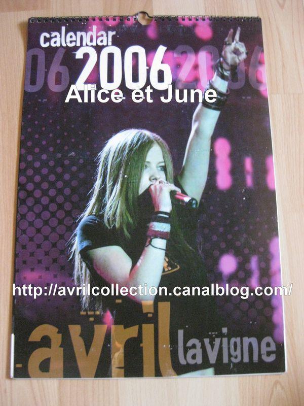 Calendrier non officiel 2006