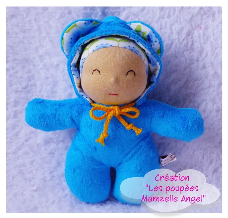 Lutin sourire collection TILDA TURQUOISE
