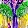 arbre incandescent