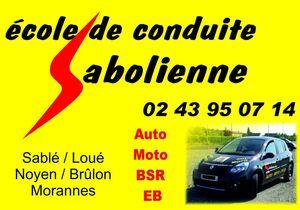018 Logo auto ecole sabolienne