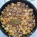 Poelée de pomme de terre a la viande hachée a l'américaine (mr woody)