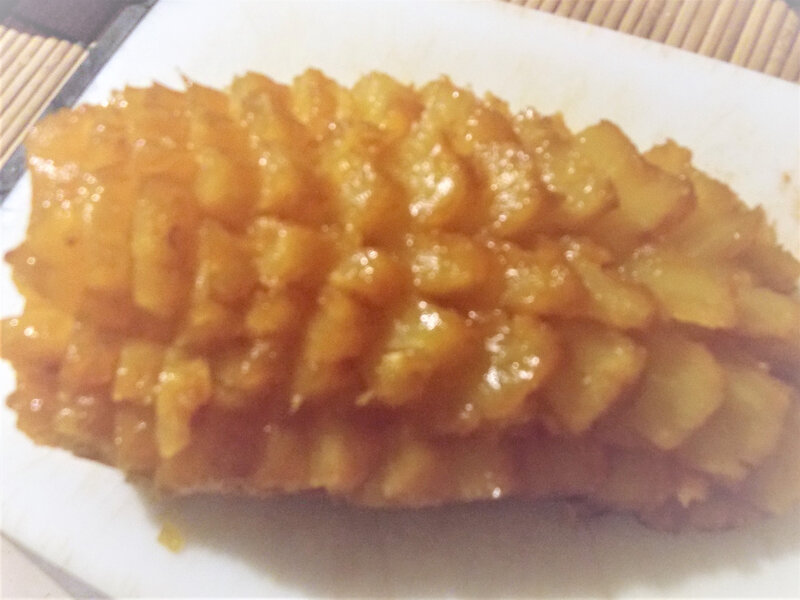 ananas rôti 1