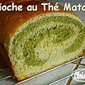 ~~ muffins thé matcha chocolat ~~