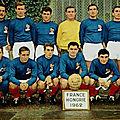 11 novembre 1962 FRANCE-HONGRIE ... DOUBLÉ DE FLEURY DI NALLO