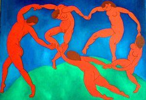 MATISSE-La-danse 1909