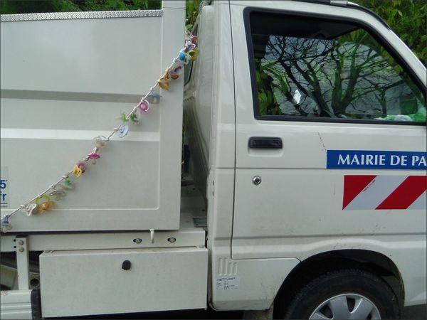 Paris camionnette sucettes