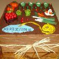 Gâteau potager