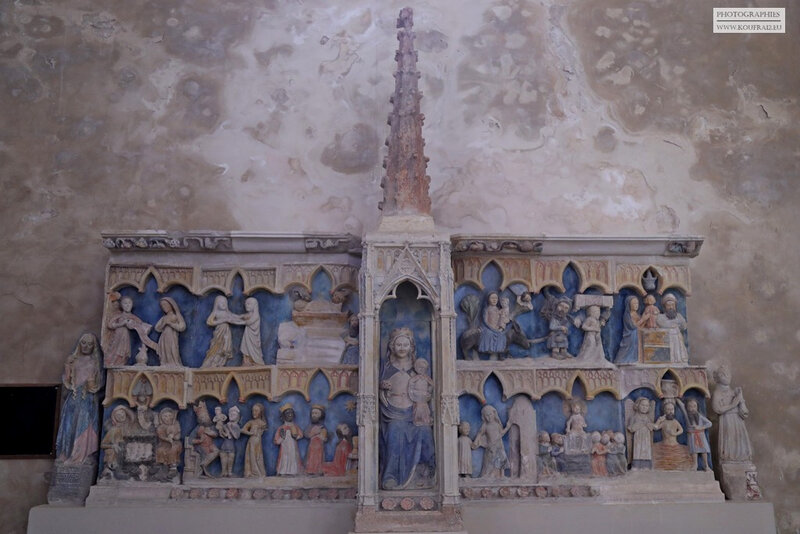 Photos JMP©Koufra 12 - Le Caylar - Eglise St Martin - Rétable - 18072019 - 0003