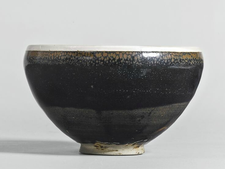 A black-glazed russet-splashed bowl, Northern Song / Jin dynasty