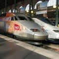 TGV Iris 320 & Transmanche à la gare du Nord