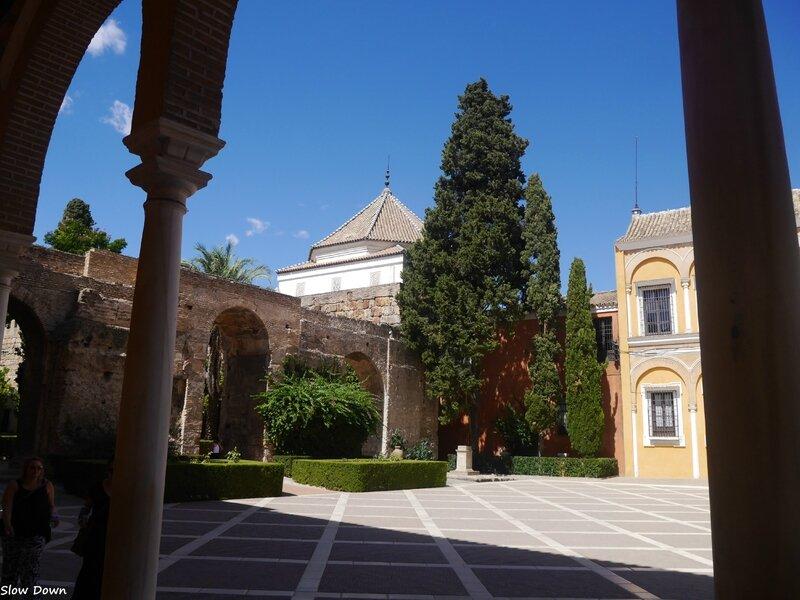 Real Alcazar cour du patio de la Monteria