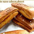 Brioche suisse calisson et abricot