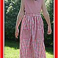 2012 - mars. robe tablier frégoli taille 12 ans