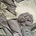 Cortège gris , mauve et blanc ...