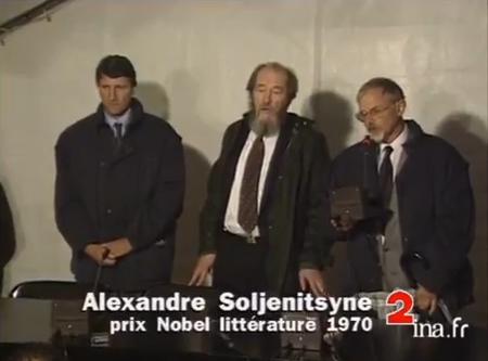 Soljenitsyne aux Lucs sur Boulogne 1993