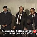 25 septembre 1993, soljenitsyne aux lucs-sur-boulogne