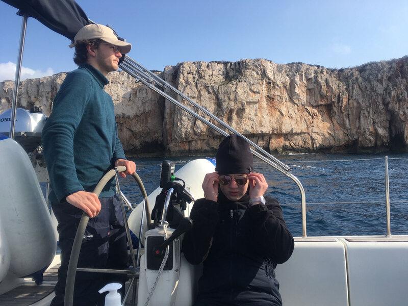 Les falaises de Mrtovac, archipel des Kornati, samedi 13 mars 2021