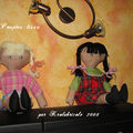 Grandes Poupées Tissu par Krolabricole 2008