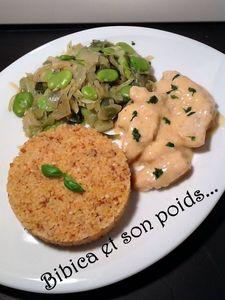 Aiguillettes_de_dinde_sauce_poulette__poireaux_aux_f_ves_et_sarrasin_gourmand