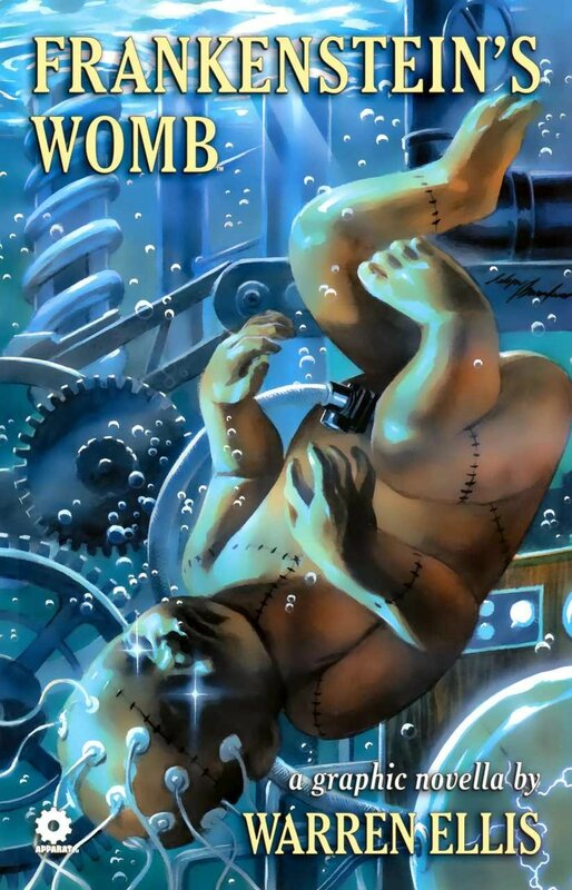 frankenstein's womb vol 1 TP