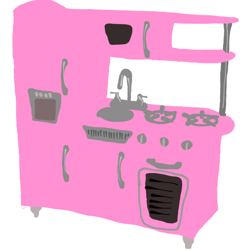 cuisine kidcraft dessin