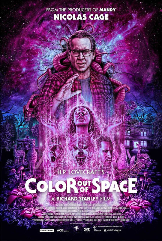 Color out of Space affiche