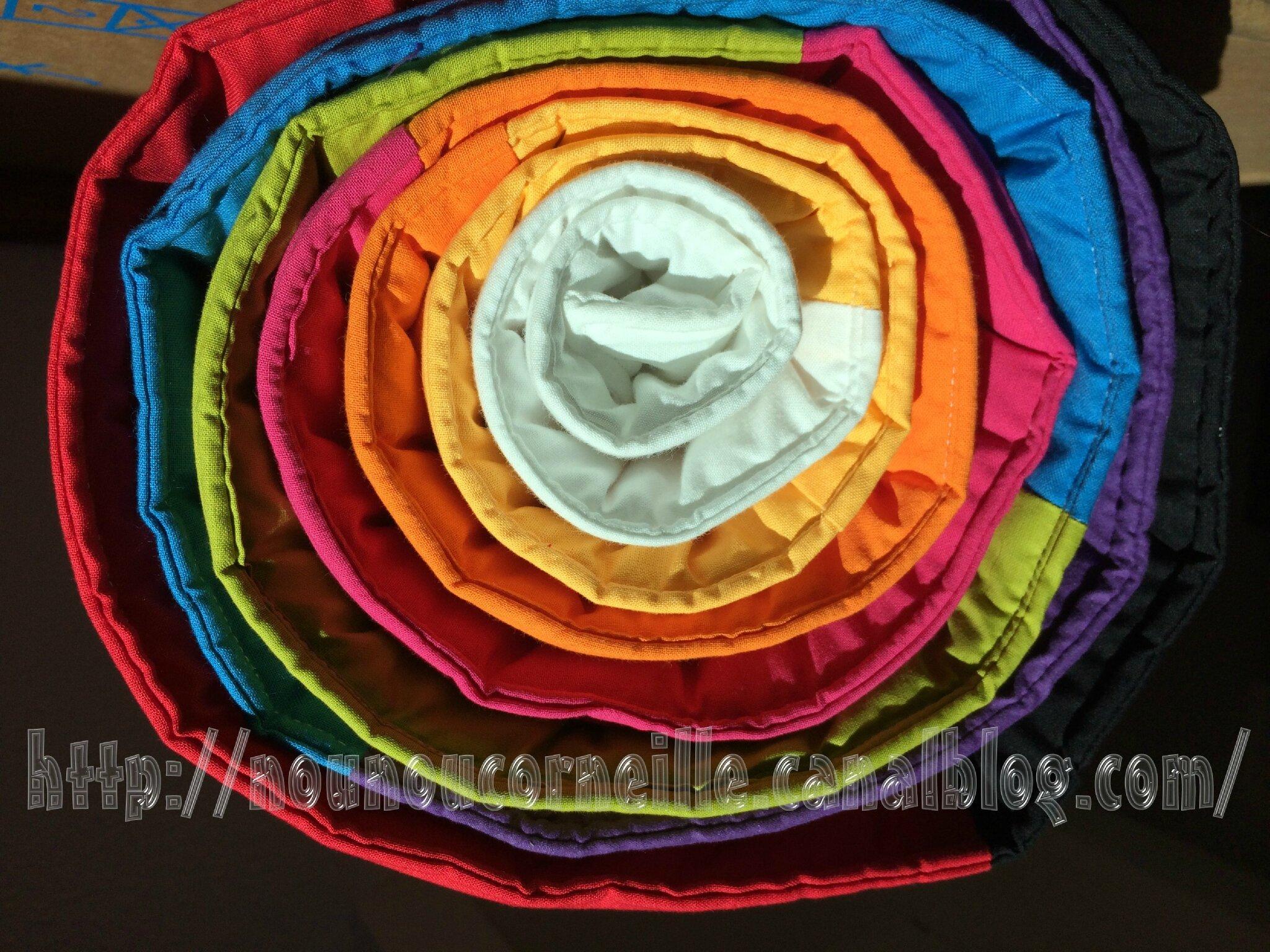 Tapis GÉANT de tri de couleurs