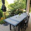 table bois et béton