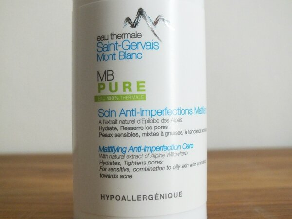 2 Soin Anti-imperfections Matifiant Saint-Gervais Mont Blanc
