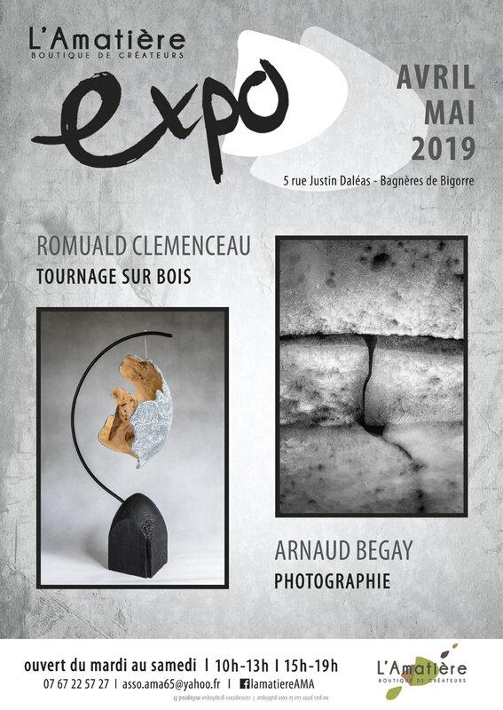l'Amatière affiche expo 07