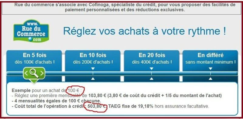 Offre de crédit