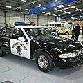CHEVROLET Caprice Classic relookée voiture de police 1991 Besançon (1)