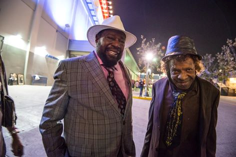 George Clinton and Sly photo William Thoren