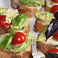 Crostinis a l'italienne