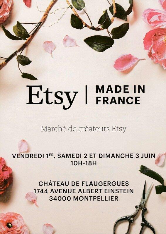affiche ETSY Château