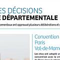 Val de marne handicap -> brigitte jeanvoine, vice-présidente, demande la création de 140 nouvelles places médicalisées